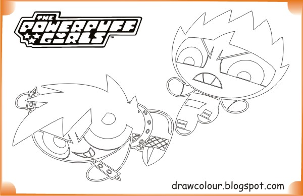 printable-the_powerpuff_girls-battle_powerpuff_girl-coloring-pages