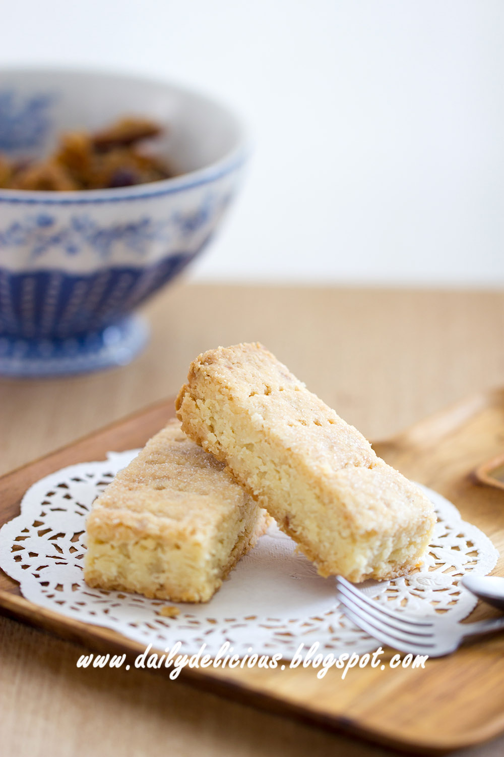 Macadamia Shortbread Cookies Recipe — Dishmaps