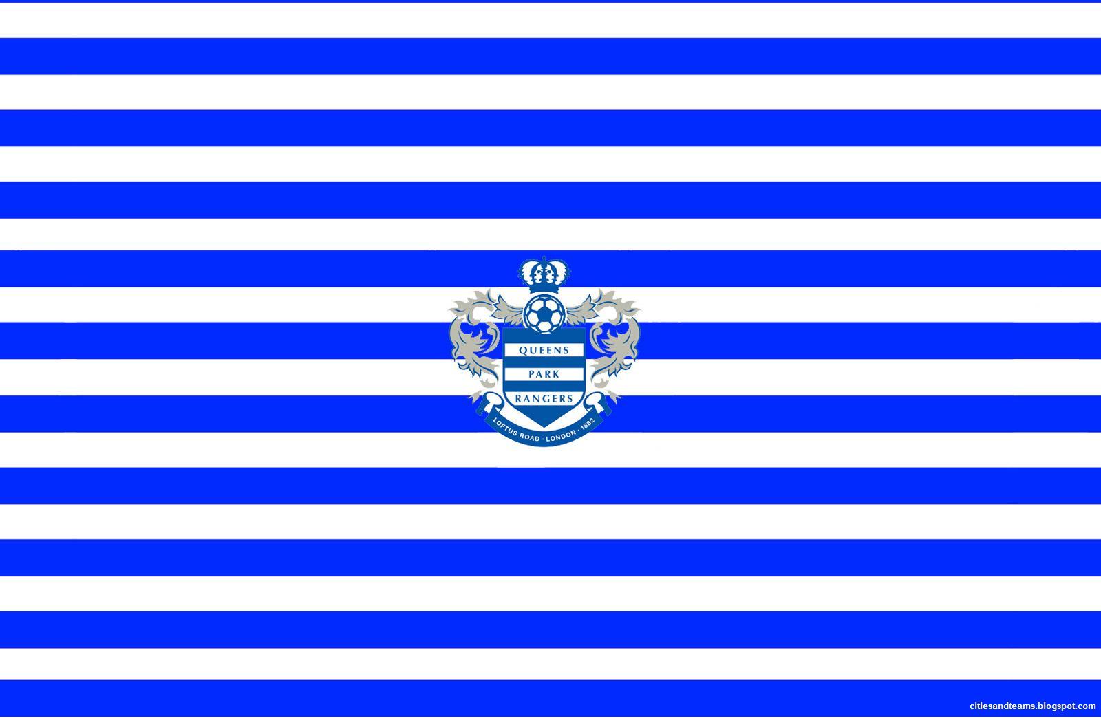 FC Qpr English Team Premier League England Hd Desktop Logo WallpaperQpr Logo Wallpaper