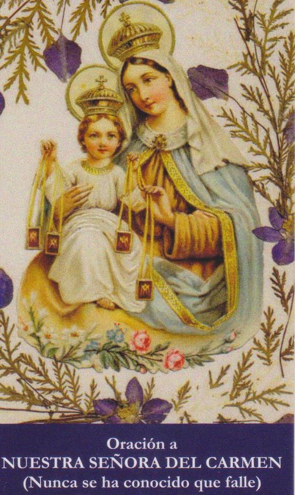 Un minuto con  la Virgen del Carmen
