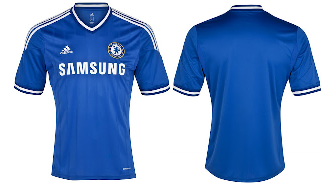 Chelsea Shirts 2014 front and back