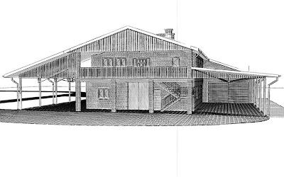 Architekt Rzeszów: Stajnia na 11 koni, restauracja, pokoje gościnne, warsztat.