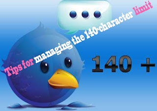 Twitter Tips for managing the 140 character limit,twitter tips,twitter tips and tricks,fb tips,facebook tips,facebook tips and tricks,digg tips