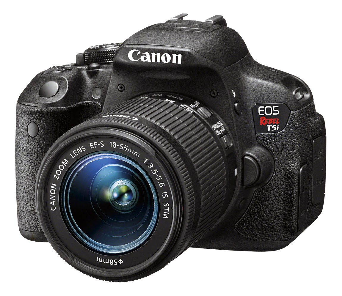 Canon EOS Rebel T5i, digital camera