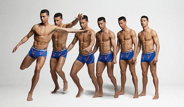 Cristiano Ronaldo CR7 Underwear Campaign Fall/Winter 2015‏