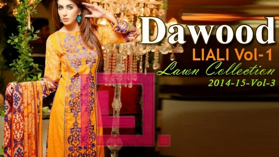 Dawood Liali Designer Embroidered Lawn
