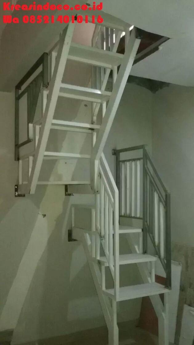 Daftar harga tangga trap kayu kamper dan tangga trap besi for Trap 2 meter