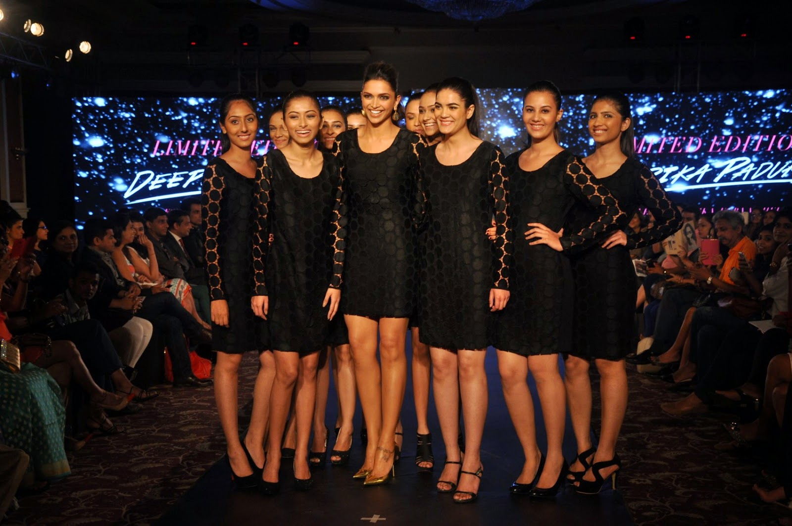 Deepika Padukone Walks at Van Heusen event 'Walk the Ramp with Deepika Show