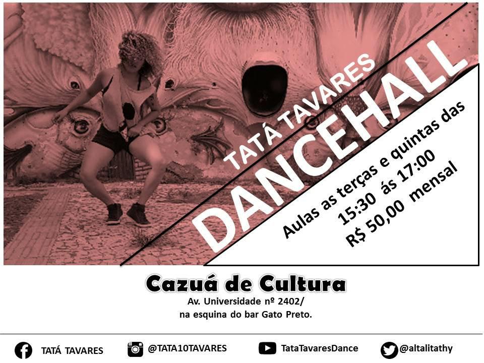 Dica] Aula de DanceHall com Tatá Tavares!