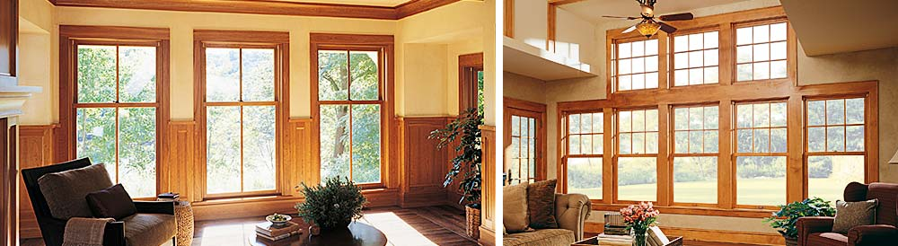 Wooden Double Hung Windows : Marvin ultimate double hung wood replacement window
