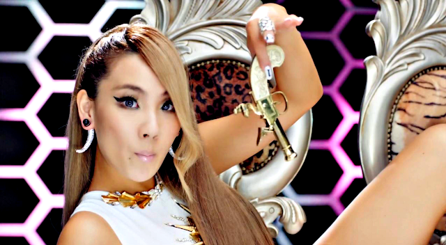 cl the baddest female on inkigayo