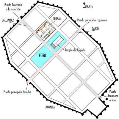 Plano de la ciudad de madrid