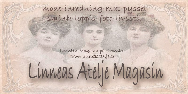 Lifestyle Magazine....Linneas Atelje Magasin