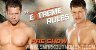 Cody Rhodes vs Miz Extreme Rules 2013 PPV YouTube Pre-Show