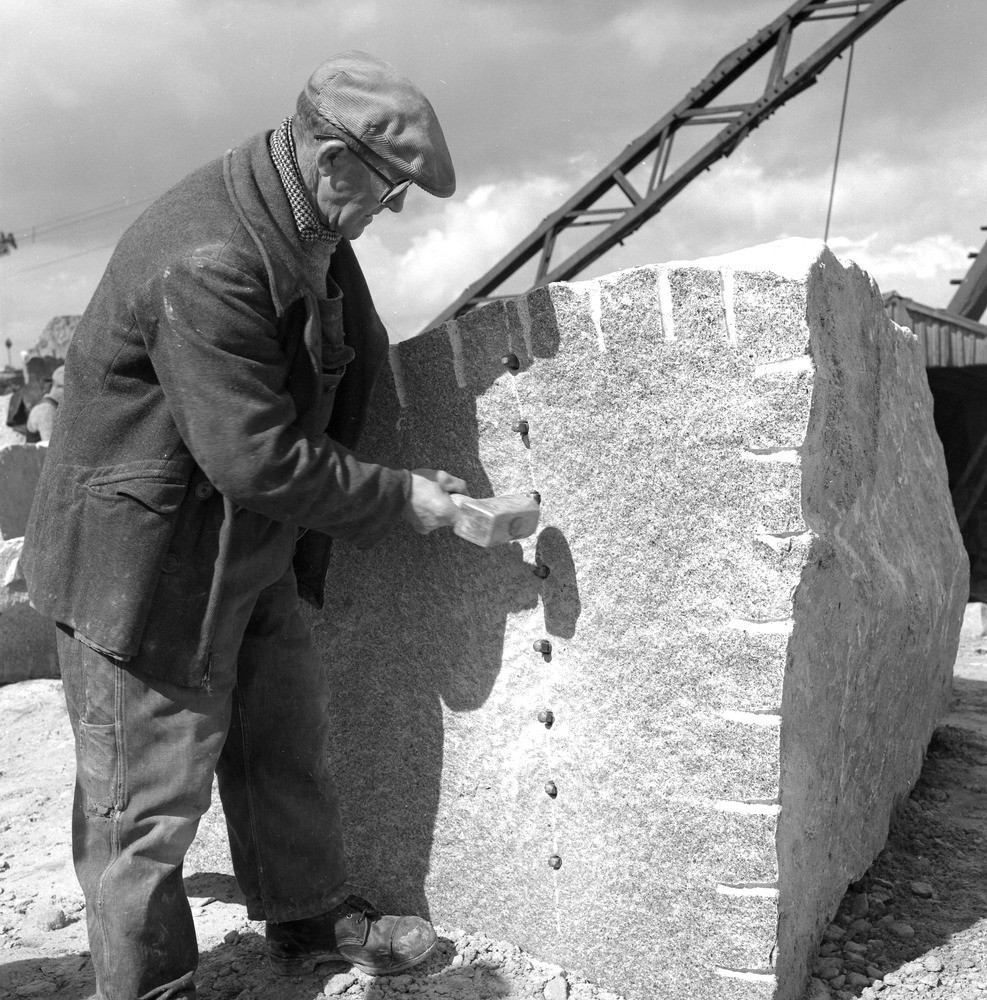 Plug And Feather : Bgs geoheritage images from the collections april