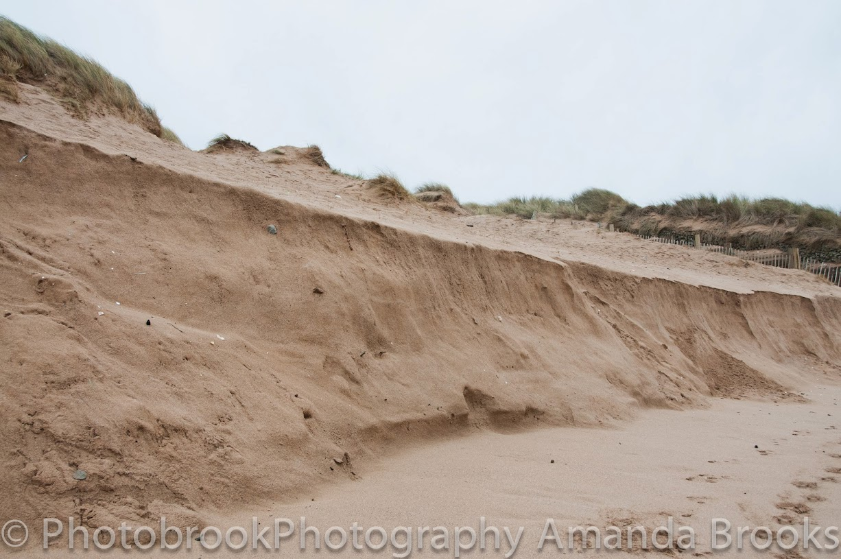 Sand Dunes At Fistral beach