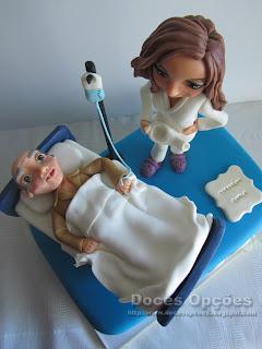 bolo aniversário enfermagem bragança
