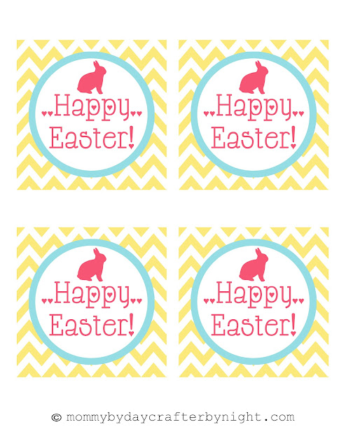 Mommy by day crafter by night free printable happy for Easter name tags template