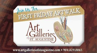 GAMBLE ROGERS FESTIVAL, CULTURAL EXPOSITION, ART WALK, THE FRAY,  BIG WEEKEND EVENTS! 13  498 AgosaMap2011 St. Francis Inn St. Augustine Bed and Breakfast