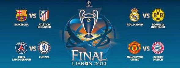 Sorteo de los cuartos de final de la champions league 2013 for Cuartos final champions 2014