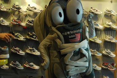 New Balance Racing Team Mascot