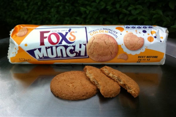 Fox's Munch vegan biscuits