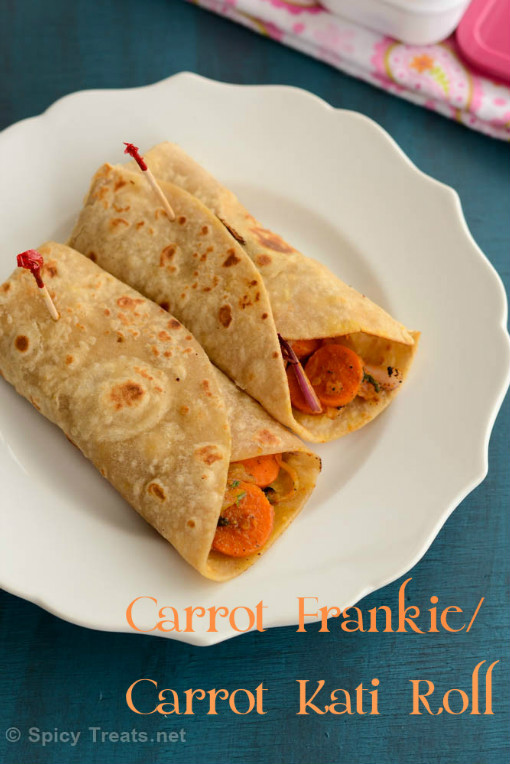 Carrot Frankie Recipe