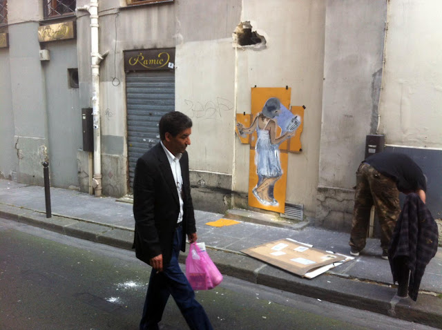 nick walker working in paris