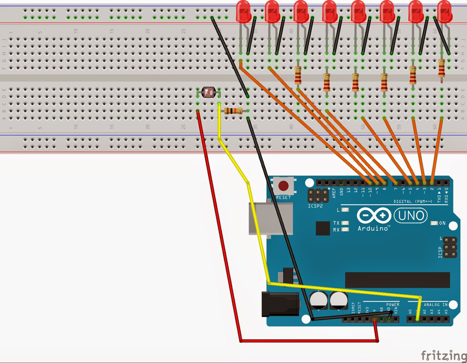 COURSE ON ARDUNIO: Automatic Light control using Labview and arduino