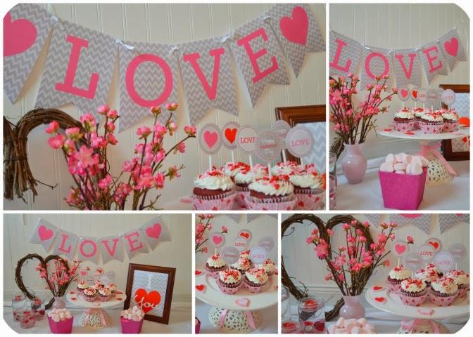 San Valentín: lindo mini kit para Imprimir Gratis.
