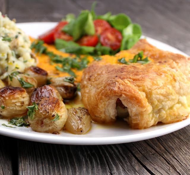 Oppskrift Vegansk Julestek Kjøttfri Julemiddag Vegetarisk Stek Innbakt Butterdeig