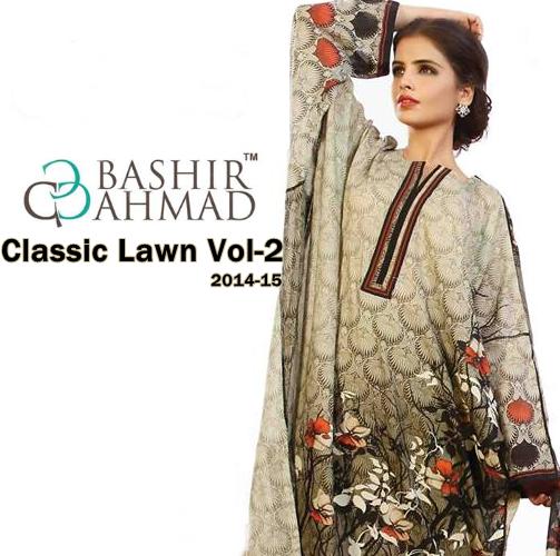 Bashir Ahmad Classic Lawn'14