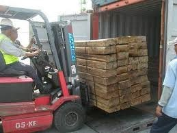 perusahaan melakukan ekspor kayu