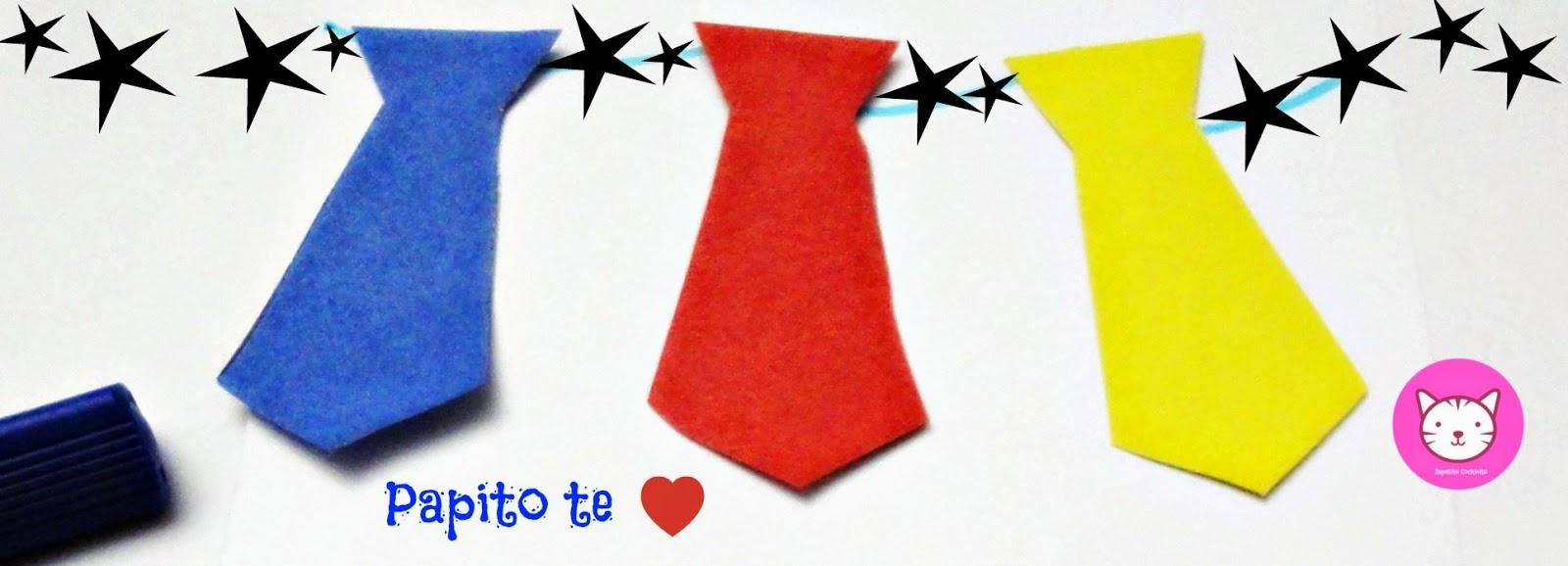 Zapatito cochinito corbatas de papel - Como hacer cadenetas de papel para fiestas ...