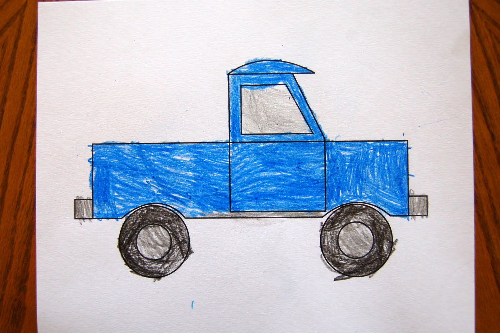 Little Blue Truck Printables Coloring - Coloring Page