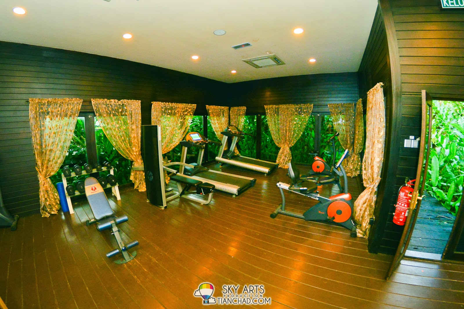 Gym room @ Philea Resort  and Spa Ayer keroh, Melaka