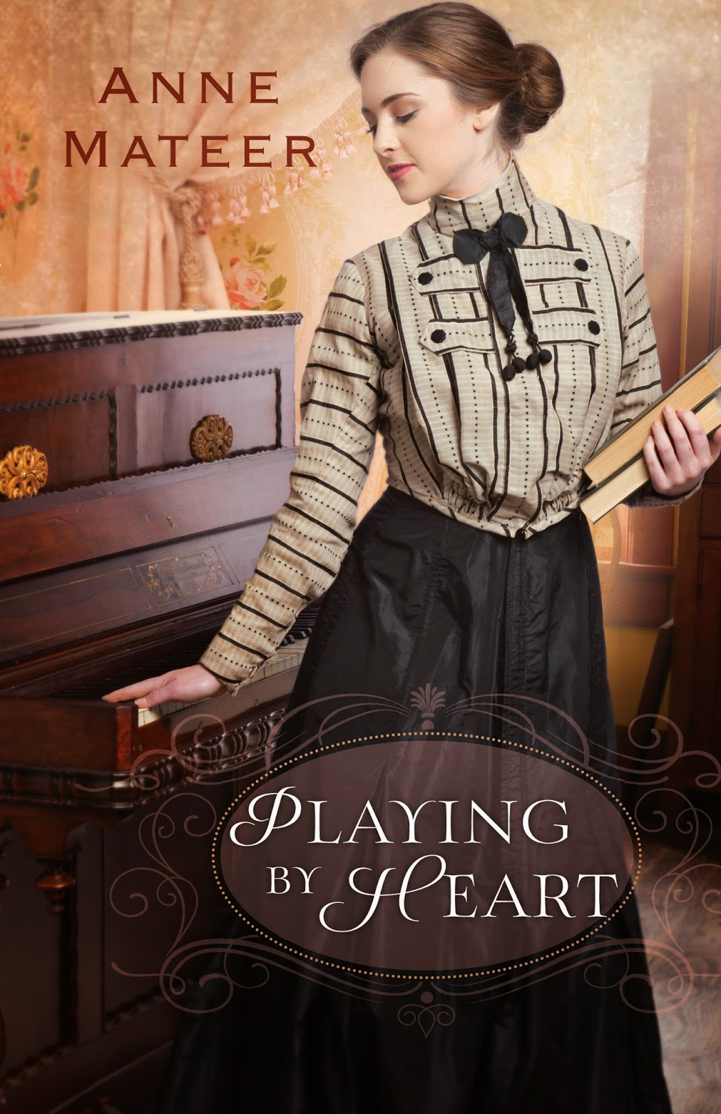 book review of Playing By Heart by Anne Mateer (Bethany House) by papertapepins