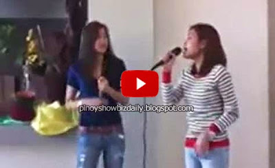 Alex and Toni Gonzaga sing Let It Go
