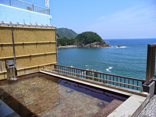 Onsen in Hiwasa before T23 Yakuōji 薬王寺