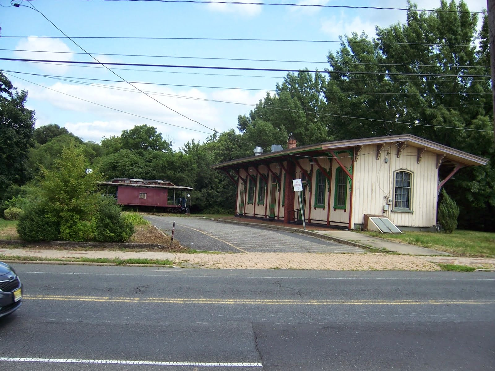 Mount Holly Train Station