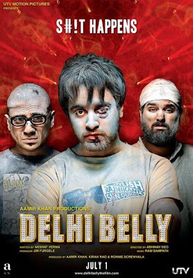 Delhi Belly (2011) DVD Rip 600 MB cover poster, Delhi Belly (2011) DVD Rip 600 MB dvd cover, Delhi Belly poster, poster