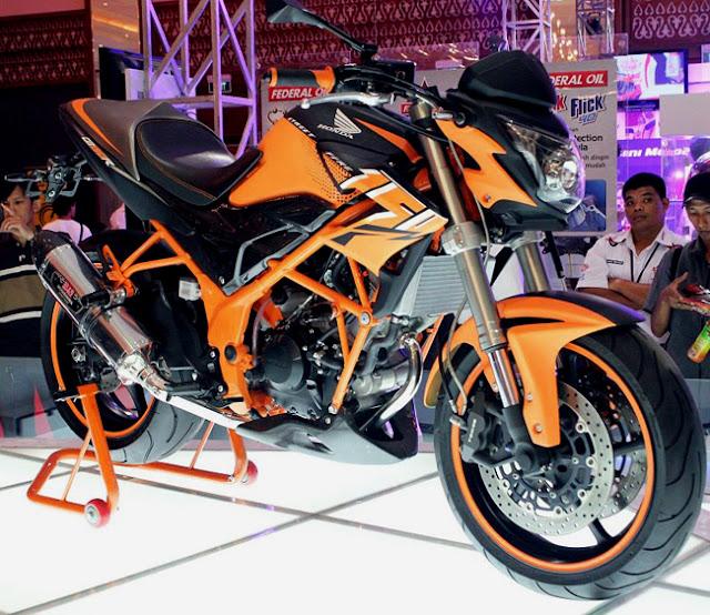 Gambar Modifikasi Honda CB150R Streetfire Terbaru 2013 title=