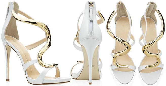Beautiful Giuseppe Zanotti Bridal ; Wedding Shoes