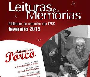 NISA: LEITURAS E MEMÓRIAS - A BIBLIOTECA AO ENCONTRO DAS IPSS