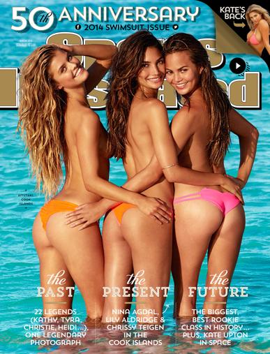SI Swim 2014 cover