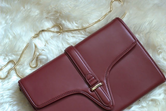 Burgundy Zara Bag