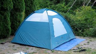 палатка в форме полусферы