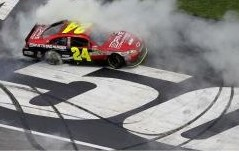 NASCAR: Jeff Gordon wins NASCAR Sprint Cup Atlanta
