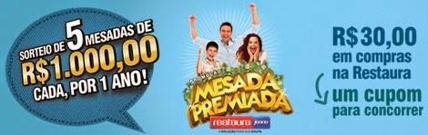 """Promoção Restaura Jeans - """"Mesada Premiada"""""""