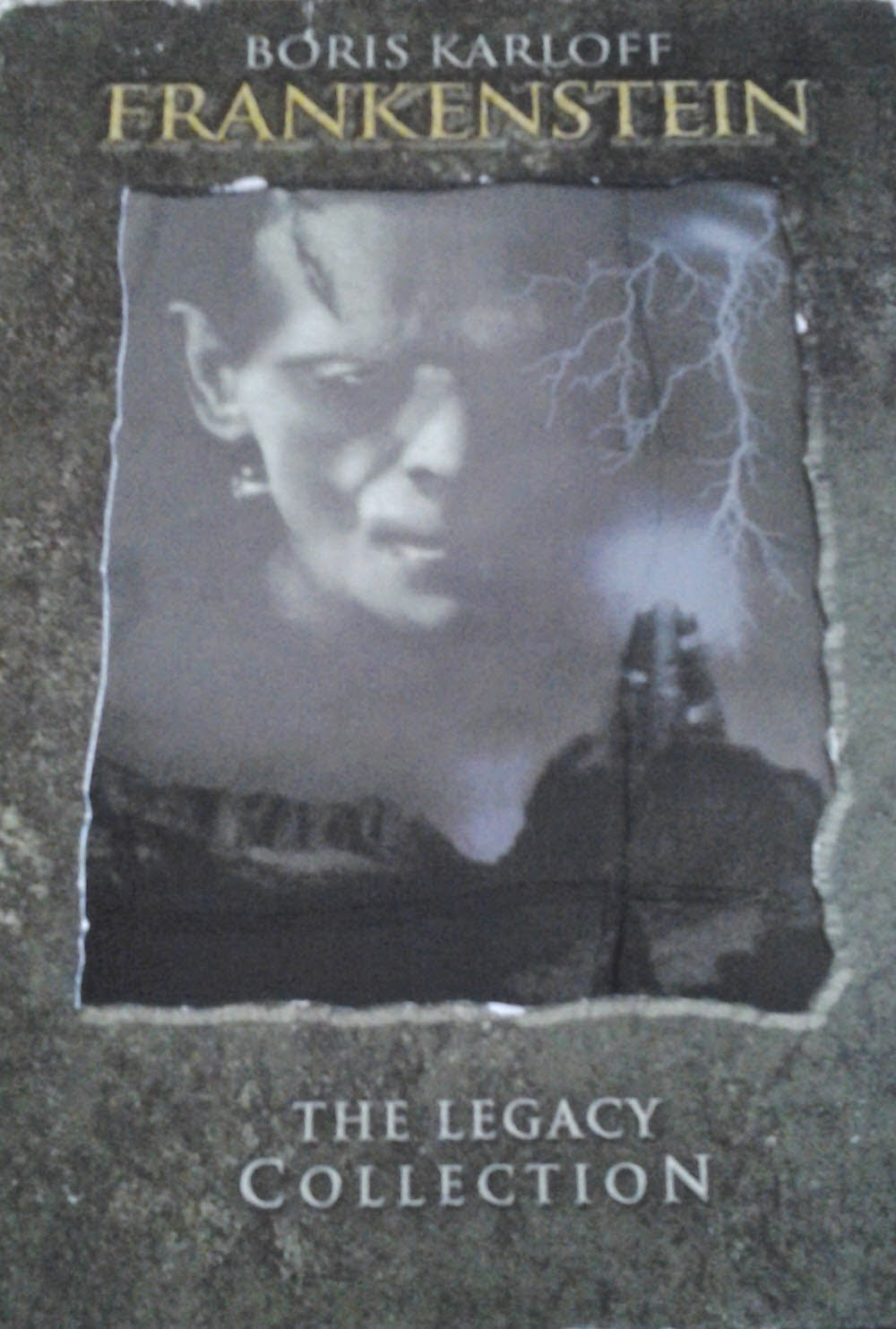 DVD Cover - Frankenstein 1931